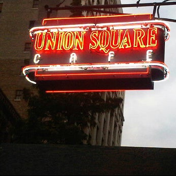 Photo taken at Union Square Cafe by Valerie S. on 3/19/2012
