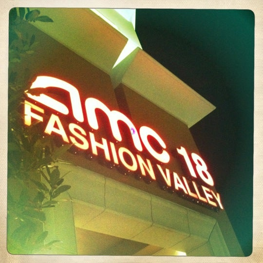 Photo taken at AMC Fashion Valley 18 by Randy B. on 2/17/2012
