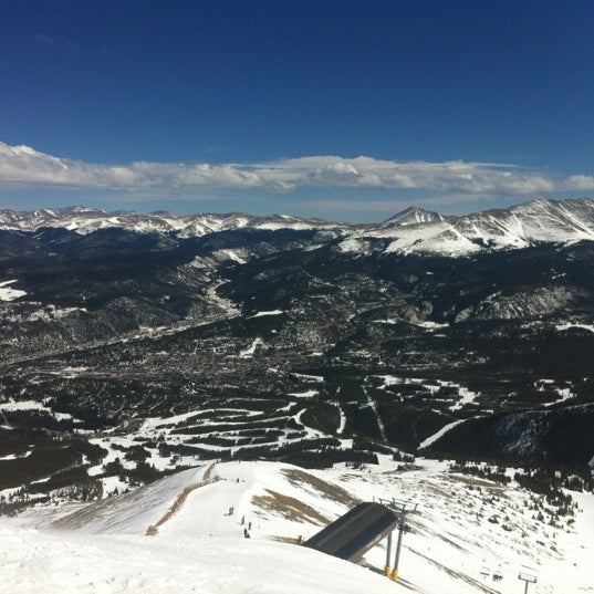 Photo taken at Breckenridge Ski Resort by Cory P. on 3/10/2012
