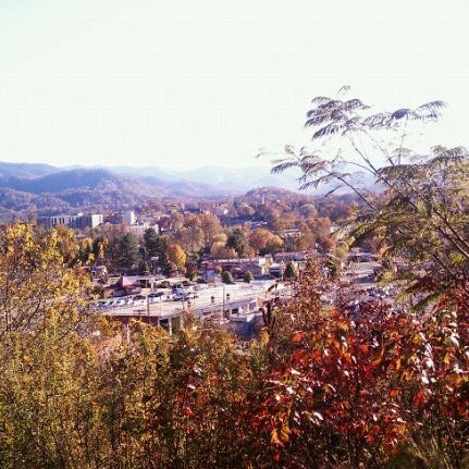 Photo taken at Waynesville, NC by Harold H. on 10/25/2011