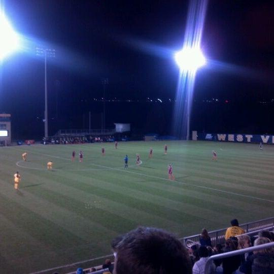 Photo taken at Dick Dlesk Soccer Stadium by Meg M. on 11/12/2011