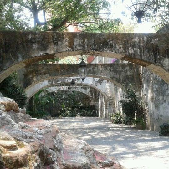 Photo taken at Hotel & SPA Hacienda de Cortés by Beatriz G. on 4/30/2012