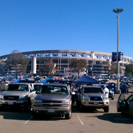 Photo taken at Qualcomm Stadium by marx a. on 11/27/2011