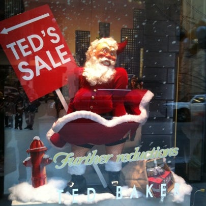Photo taken at Ted Baker by James G. on 1/2/2011