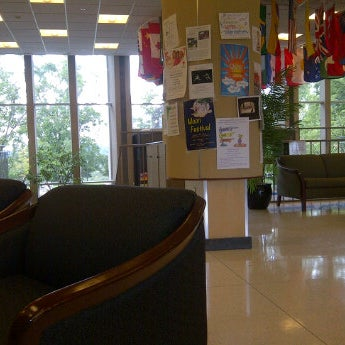 Photo taken at Slayter Student Union (Denison University) by Emmanuel H. on 9/10/2011