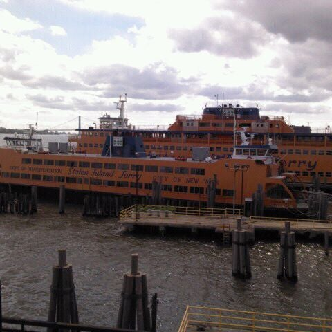 Photo taken at Staten Island Ferry Boat - Guy V. Molinari by Paul D. on 9/18/2011
