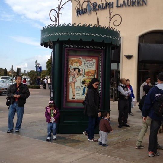 Photo taken at Carlsbad Premium Outlets by Trisha C. on 12/18/2011
