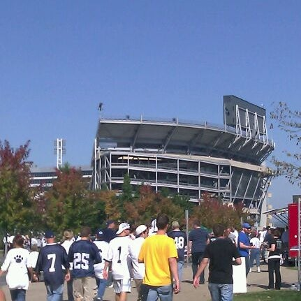 Photo taken at Beaver Stadium by Jason G. on 10/8/2011