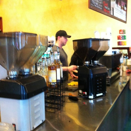 Photo taken at Uptown Espresso by Carl T. on 2/18/2012