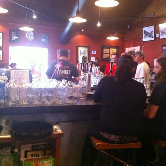 Photo taken at Lagunitas Brewing Company by Christina A. on 4/22/2012