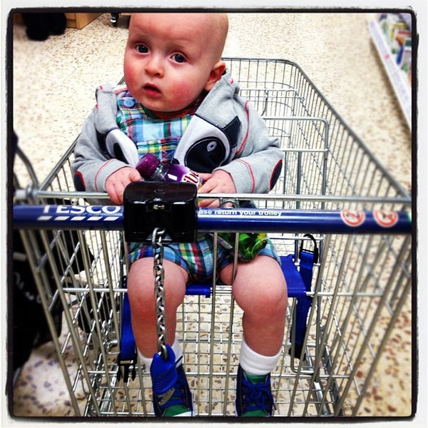 Photo taken at Tesco Extra by Alexandra L. on 3/30/2012