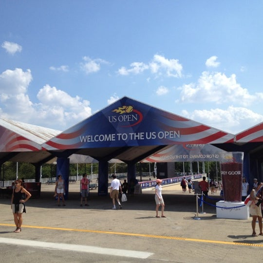 Photo taken at US Open Tennis Championships by Thomas W. on 9/1/2012