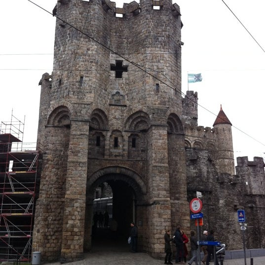 Photo taken at Gravensteen / Castle of the Counts by Sergey D. on 2/6/2011