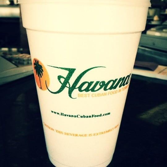 Photo taken at Havana Restaurant by Giuseppe L. on 1/19/2012