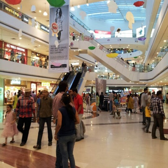 Photo taken at Kumar Pacific Mall by Rahul B. on 6/24/2012