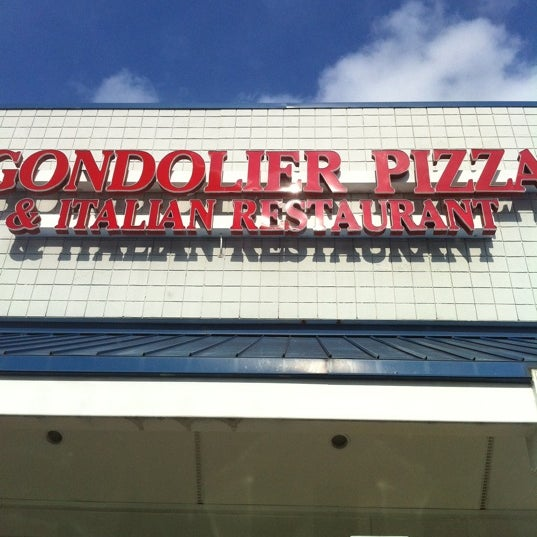 Photo taken at Gondolier Pizza by natalyn on 5/18/2011