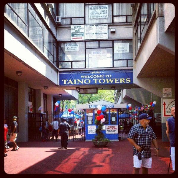 Taino Towers East Harlem New York Ny