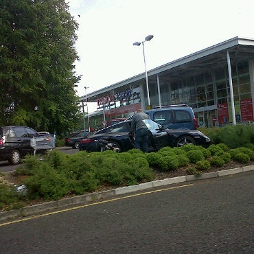 Photo taken at Tesco by Matt S. on 5/22/2011
