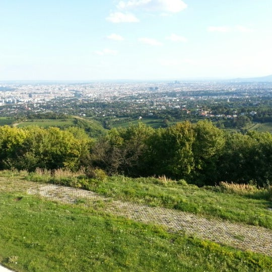 Photo taken at Kahlenberg by Manfred S. on 8/13/2012