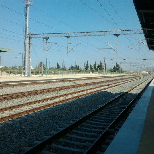 Photo taken at Σταθμός Προαστιακού Κιάτο (Kiato Suburban Rail Station) by Elena I. on 7/26/2012