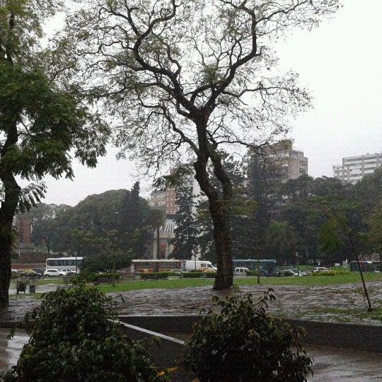 Photo taken at Plaza Francia by Maximiliano T. on 9/7/2012