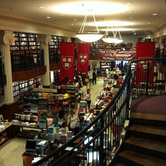 Photo taken at Harvard Coop Society Bookstore by Susan B. on 8/19/2012
