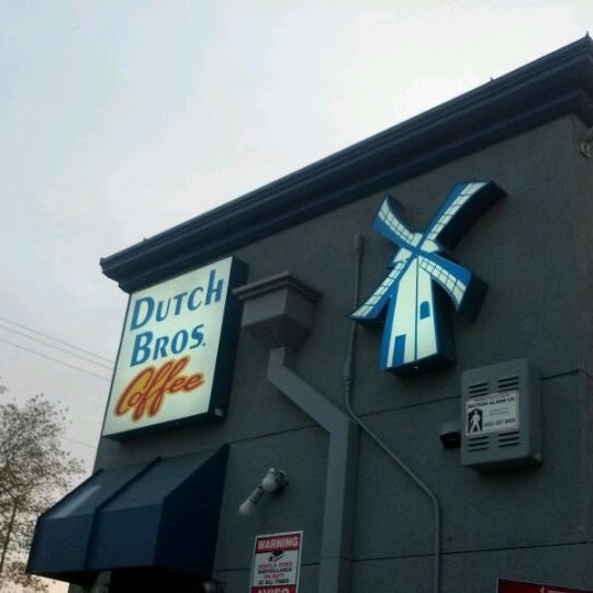 Photo taken at Dutch Bros. Coffee by David J. F. on 4/12/2012