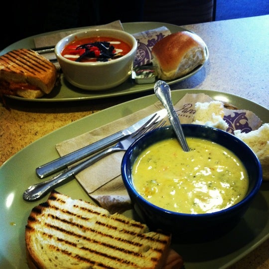Photo taken at Panera Bread by Savannah S. on 2/28/2012