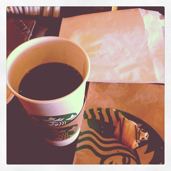 Photo taken at Starbucks by Erin M. on 3/12/2012