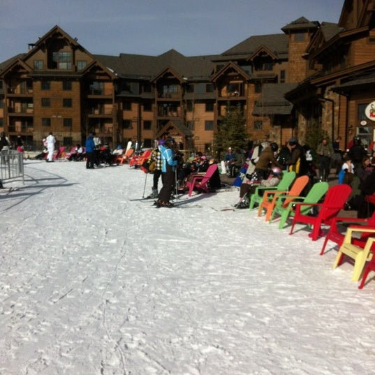 Photo taken at Breckenridge Ski Resort by Alessandra on 1/5/2012