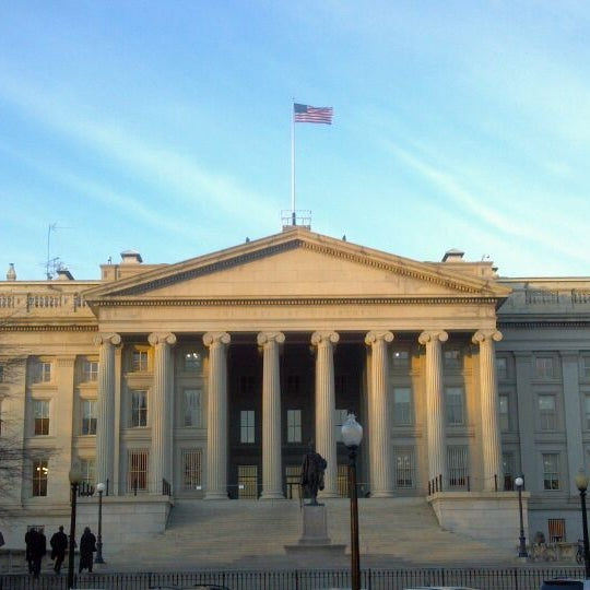 Photo taken at US Department of the Treasury by Jon G. on 1/5/2012