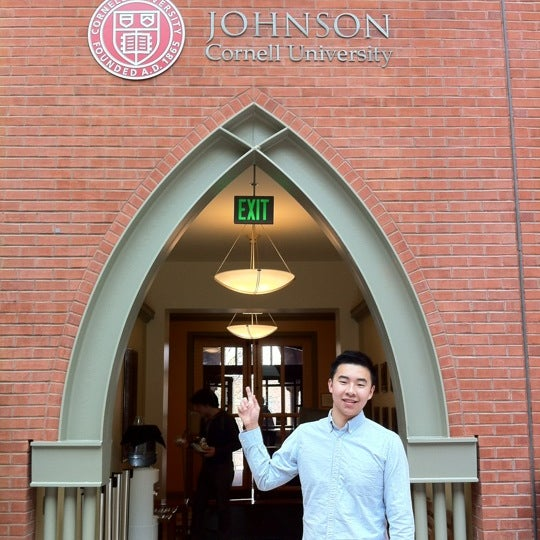 Photo taken at Sage Hall by Johnson C. on 4/14/2012