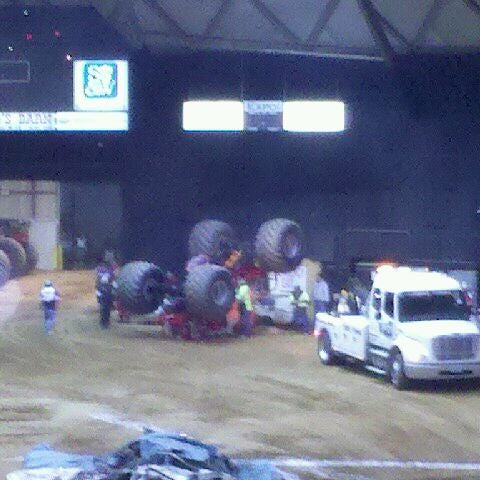Photo taken at Bell County Expo Center by Adam W. on 1/22/2012