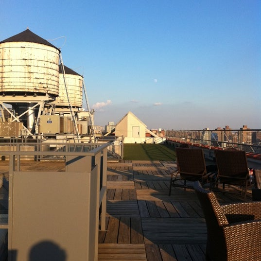 Photo taken at Meetup HQ Roof Deck by Greg W. on 8/10/2011