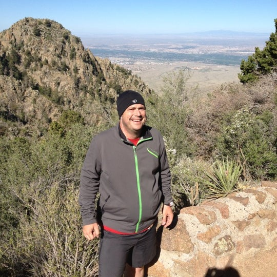 Photo taken at La Luz Trailhead by Michael D. on 5/5/2012