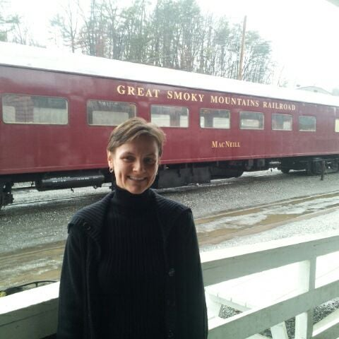 Photo taken at Great Smoky Mountain Railroad by Rick H. on 1/21/2012