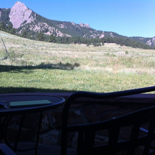 Photo taken at Chautauqua Park by Kevin M. on 6/19/2012