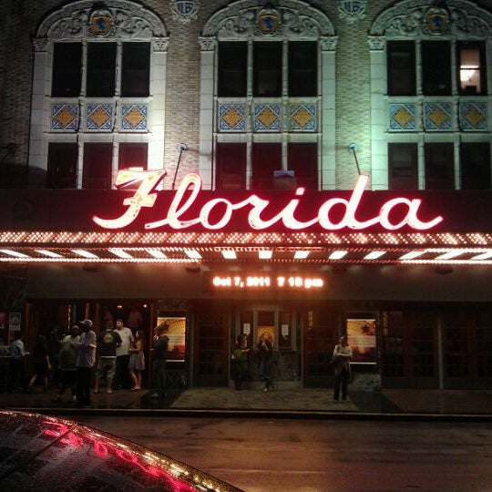 Photo taken at The Florida Theatre by X1029 J. on 10/7/2011