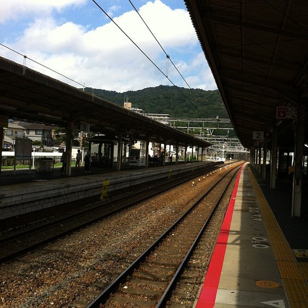 Photo taken at Ōtsu Station by raptan22 on 8/26/2012
