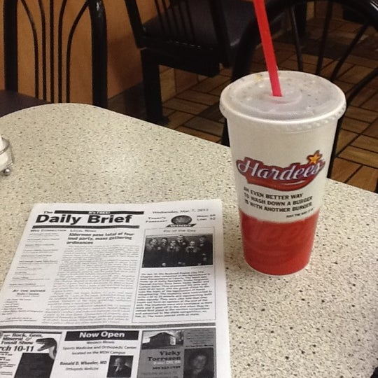 "Photo taken at Hardee's by Jose ""JR"" V. on 3/8/2012"