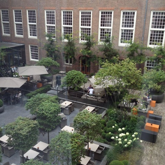 Photo taken at Sofitel Legend The Grand Amsterdam by Osama A. on 8/22/2012