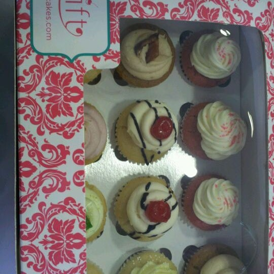 Photo taken at Sift Cupcake & Dessert Bar by Donna N. on 6/24/2012