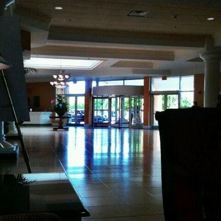 Photo taken at Rosen Plaza Hotel by Karen W. on 8/17/2011