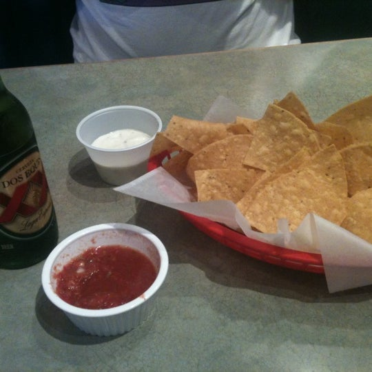Photo taken at Rey Azteca Mexican Restaurant by Banana F. on 10/1/2011