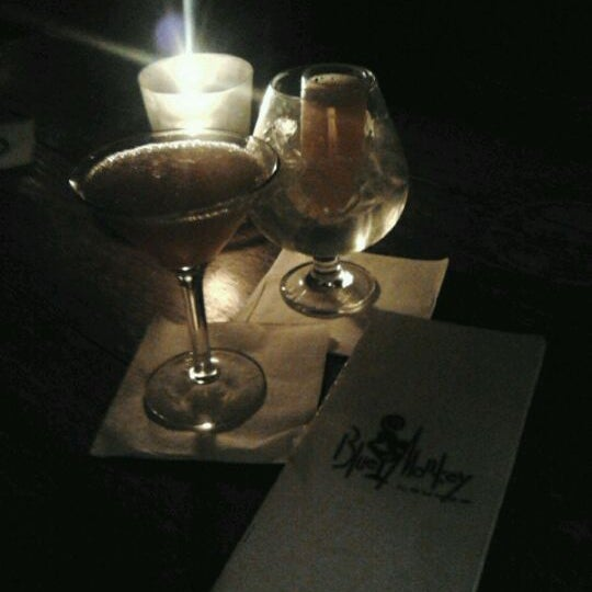 Photo taken at The Blue Monkey Lounge by Jamie G. on 2/1/2012