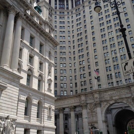 Photo taken at NYC Municipal Building by AwayIsHome on 6/18/2012