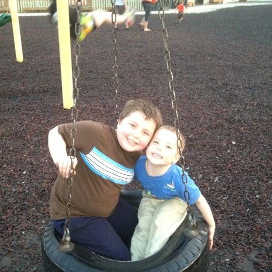 Photo taken at Annie's Playground by Jason D. on 3/22/2012