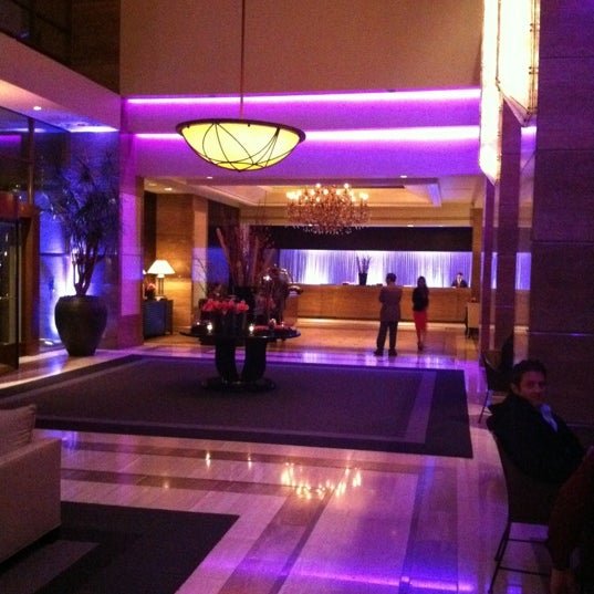 Photo taken at InterContinental Los Angeles Century City by Trisha F. on 3/6/2012