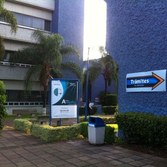 Photo taken at Universidad del Valle de Atemajac (UNIVA) by Javier V. on 9/5/2011
