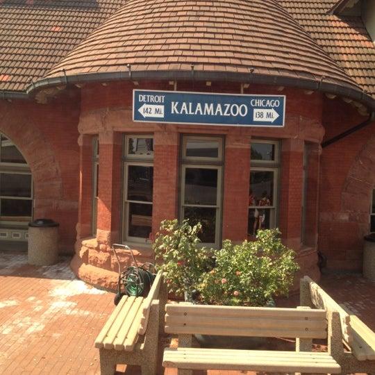 Photo taken at Kalamazoo Transportation Center - Amtrak (KAL) by Bart C. on 7/6/2012